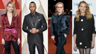 Emma Stone, Mahershala Ali, Meryl Streep, and Julia Roberts