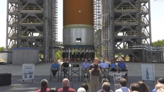 NASA Administrator Jim Bridenstine announces home of human lunar lander development