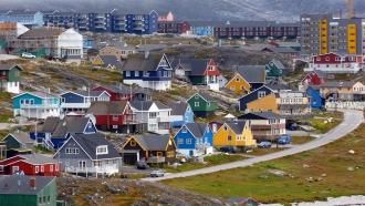 Capital city of Greenland