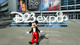 Disney D23 Expo in Anaheim, California on August 24th, 2019.