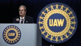 United Auto Workers union President Gary Jones