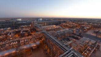 The Khurais oil plant