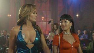 """Jennifer Lopez & Constance Wu in """"Hustlers"""""""