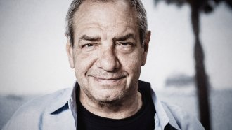 Headshot of TV producer Dick Wolf