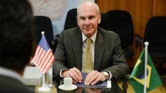 Mike Pompeo's senior adviser Michael McKinley