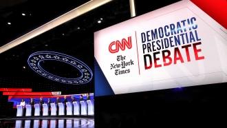 CNN / New York Times debate stage