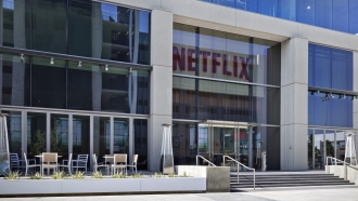 Building with Netflix logo