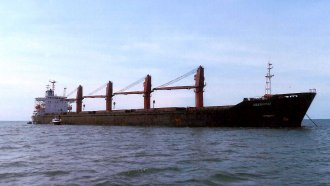 North Korean cargo ship named the Wise Honest