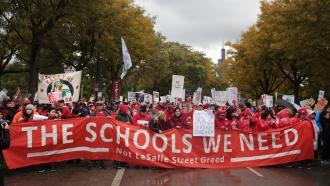 Chicago teachers strike.
