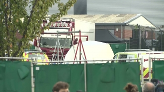 The truck where 39 people were found dead in England