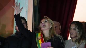Bolivian Senator Jeanine Anez