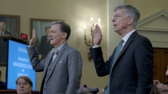 George Kent and Bill Taylor testify