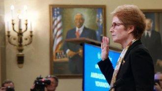 Former Ambassador Marie Yovanovitch