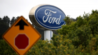Ford Motor Company sign