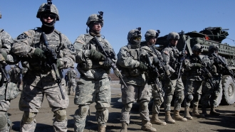 U.S. troops in South Korea