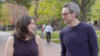 Sarah Hurwitz and Chance Seales