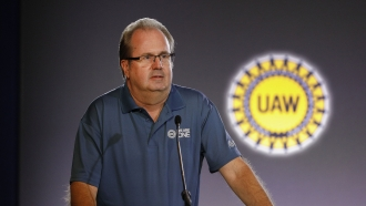 Former United Auto Workers President Gary Jones