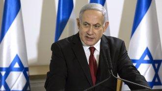 Isreali Prime Minister Benjamin Netanyahu