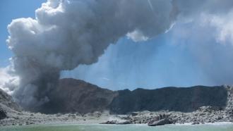 Volcano erupts on New Zealand White Island