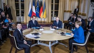 "The ""Normandy Four"" meet in Paris"