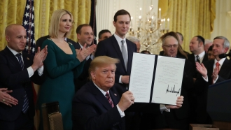 President Trump signs executive order to combat antisemitism