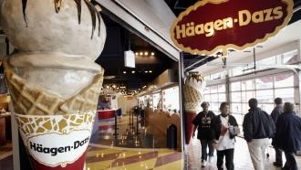 Häagen-Dazs ice cream store