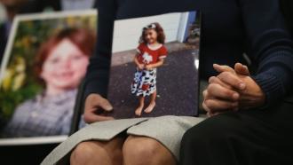 Parents of Sandy Hook Elementary massacre victims.