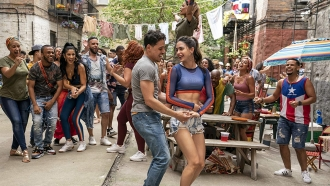 """A promotional image for the 2020 film adaptation of """"In the Heights"""""""
