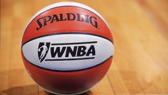 A WNBA basketball
