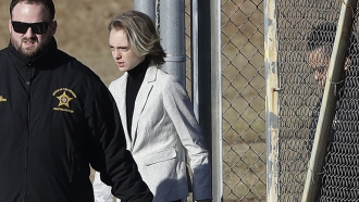 Michelle Carter walks out of a Massachusetts county jail