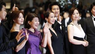 """Parasite"" cast at Cannes Film Festival"