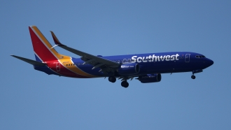 A Southwest Airlines Boeing 737 plane