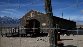 Replica of internment camp in California