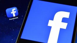 The Facebook app logo.