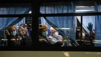 U.S. citizens evacuated from quarantined cruise ship