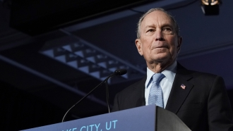 2020 Democratic presidential candidate Mike Bloomberg is focusing on Super Tuesday states.
