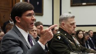 Secretary of Defense Mark Esper