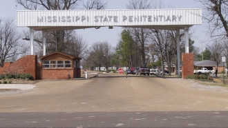 Entrance to the Mississippi State Penitentiary at Parchman, Mississippi