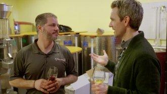 Chance Seales interviews Urban Winery worker