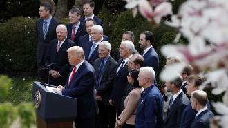 President Trump Declares National Emergency Over Coronavirus