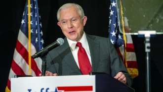 Jeff Sessions on the campaign trail