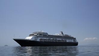 The Zaandam cruise ship