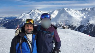 Todd Favakeh tested positive for coronavirus after returning home from a ski trip in Austria