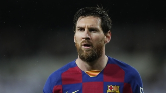 FC Barcelona player Lionel Messi