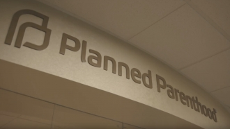 A Planned Parenthood sign