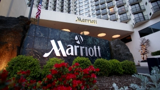 File photo shows Portland Marriott Downtown Waterfront in Portland, Oregon