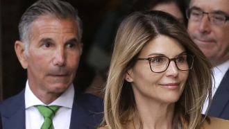 Actress Lori Loughlin, and husband, clothing designer Mossimo Giannulli