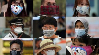 How well do masks stop the spread of a virus?