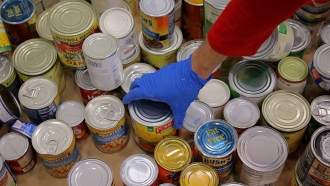 Food Banks See Rise In Demand As Donations Dip
