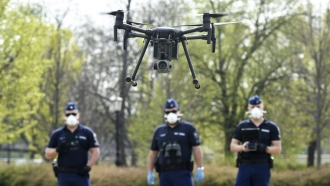 More Cities Are Testing Drones As Tools To Control COVID-19 Spread